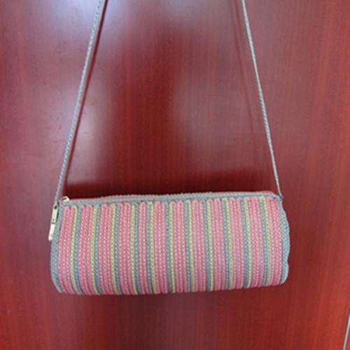 Knit handbag-evening handbags-pure beauty handbag-fashion knitting bag-brown knitting bag-womens handbag-handmade tote-hand knit shoulder bag-women accessories
