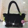 Knitting handbag-christmas gift
