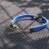 leather infinity bracelet,blue antique bronze bracelet,leather bracelet,wish bracelet,loveforever,bestfriendbracelet