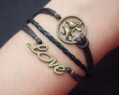 love bracelet-love,bracelet,bracelet love,love bird bracelet,love bird,charm bracelet,cross bracelet,anchor bracelet,infinity bracelet,best gift
