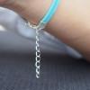 Infinity Bracelet in Silver - Infinity Wish Bracelet - imitation leather bracelet - Customize infinity bracelet-best friendship bracelet