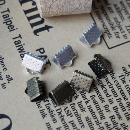 bracelet supplies-clips-8mm