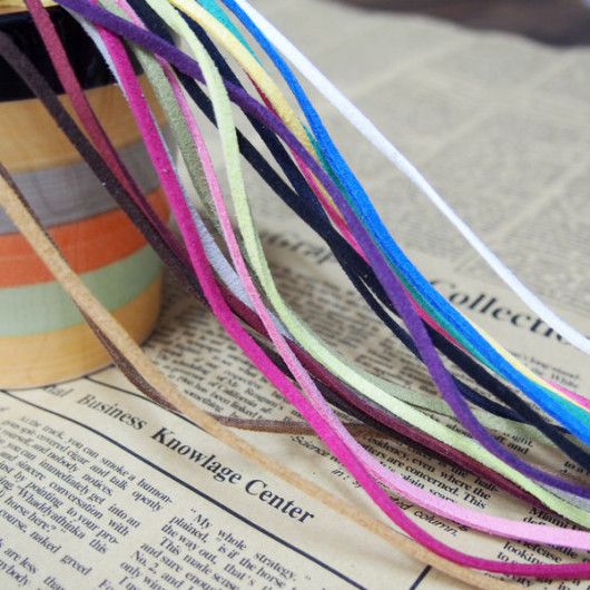 korea imitation leather cord for bracelet supplies