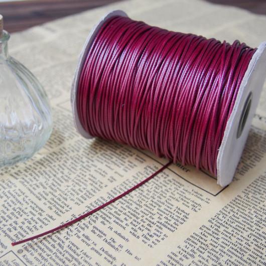wine wax cord bracelet necklace supplies