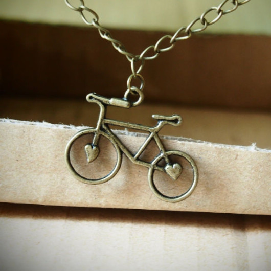 Bronze-Bike-Necklace-handmade-for-men