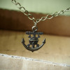 Pirate-Skull-Anchor-Necklace-bronze