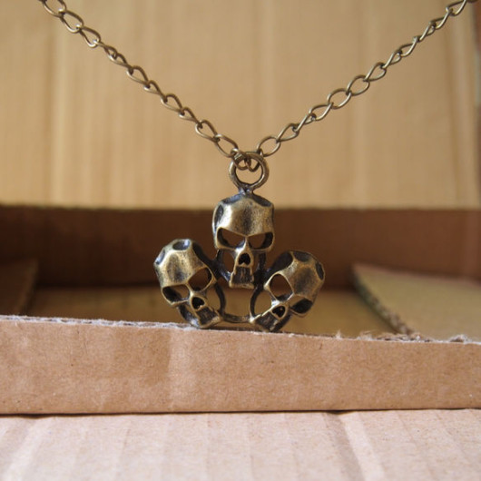 Skulls-Necklace