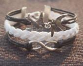 infinity-birds-bracelet-handmade