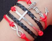 infinity-cross-anchor-bracelet