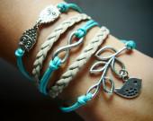 owls-infinity-branch-with-silver-bird-charm-bracelet