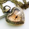 pocket watch heart shape