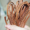 Brown-Braided-leather-jewelry-supplies
