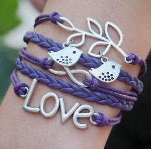 Infinity-Love-Love-Birds-with-Branch-Charm-Bracelet