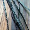black-braided-leather-bracelet-supplies
