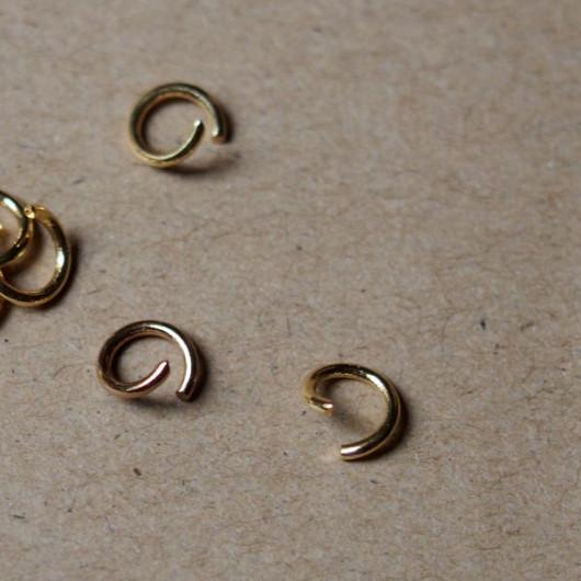 bracelet-supplies-gold-pure-copper-ring-wholesale