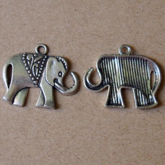 bracelet-supplies-silver-elephant-sign-wholesale