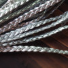Silver-braided-leather-cord