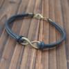 bronze-infinity-bracelet-friendship-bracelet-wholesale