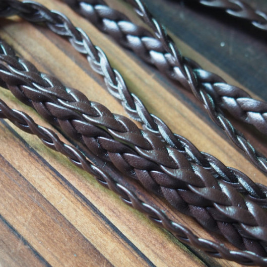 brown-braided-leather-craft-supplies