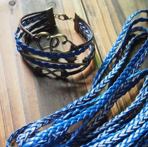 bulk-buy-braid-leather-cord-blue