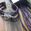 craft-supplies-braid-leather-cord-purple-color