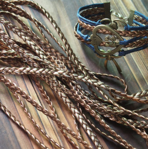 craft-supplies-vintage-braided-leather-cord