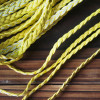 craft-supplies-yellow-braided-leather-cord