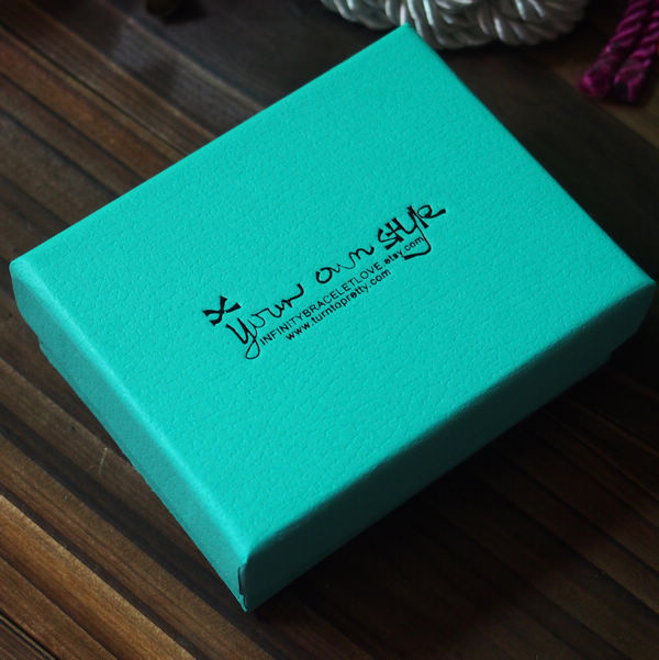 Wholesale Jewelry Packing Box 9 5 7 5 3 5mm Mint Green
