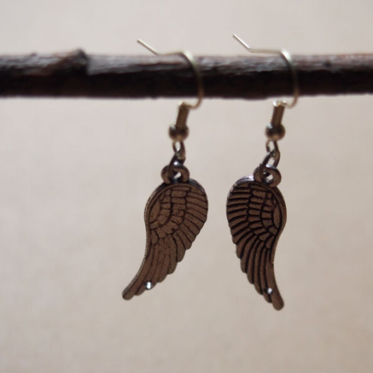 earrings-for-girl-angel-wings-vintage-style