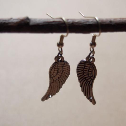 earrings-for-girl-angel-wings-vintage-style