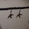 earrings-for-women-love-birds-silver-retro