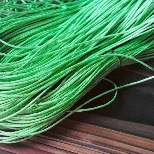 green-wax-cord-bracelet-supplies
