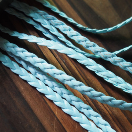 light-blue-braid-leather-craft-supplies