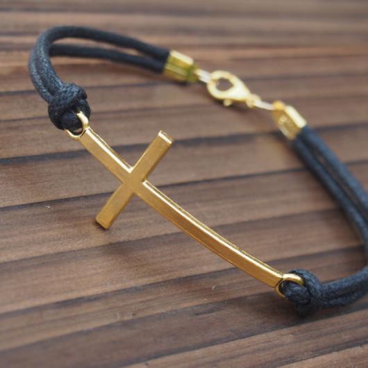 mens-gold-cross-bracelet-wholesale