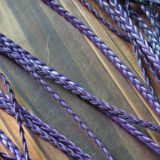 purple-braided-leather-cord-craft-supplies
