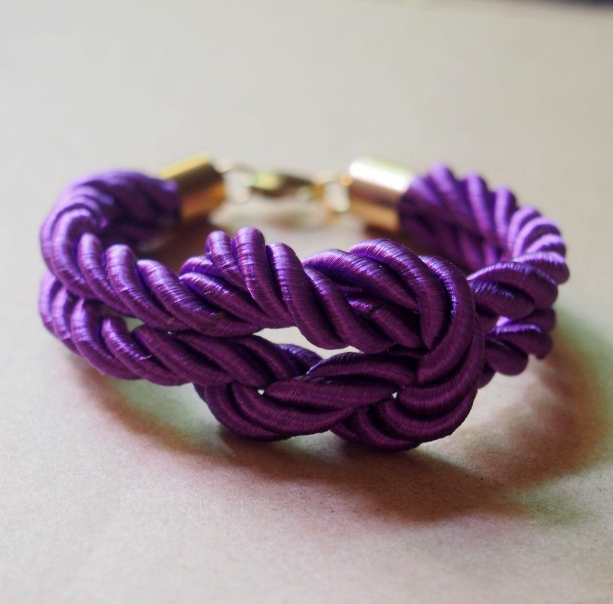 purple-rope-knot-bracelet