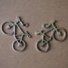 silver-bicycle-alloy-metal-craft-supplies