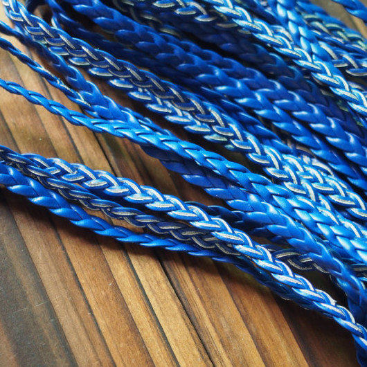wholesale-braided-leather-blue