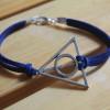 deathly hollow harry potter silver bracelet