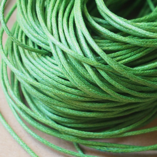 green-wax-cord-supplies
