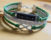 infinity-bracelet-believe-bracelet-charm