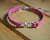 infinity-pink-bracelet-for-girl-women