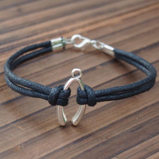 silver-wishbone-bracelet-for-men-women
