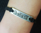 believe-bracelet-for-men-black-leather-bracelet