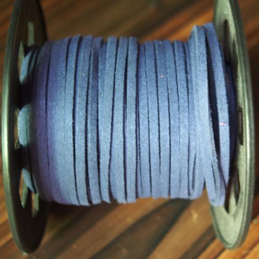 craft-supplies-korea-imitation-leather-navy-blue