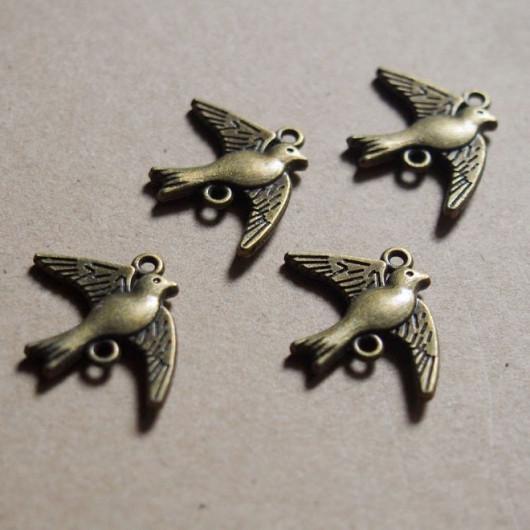 flying birds pendant craft supplies