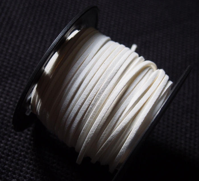 Korea imitation leather white online buying 3mm good for Wholesale leather craft supplies