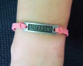 pink-leather-bracelet-for-best-friend
