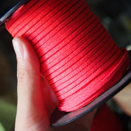 wholesale-imitation-leather-red