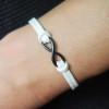 black-infinity-leather-bracelet